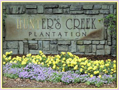 Hunter's Creek Plantation Sign